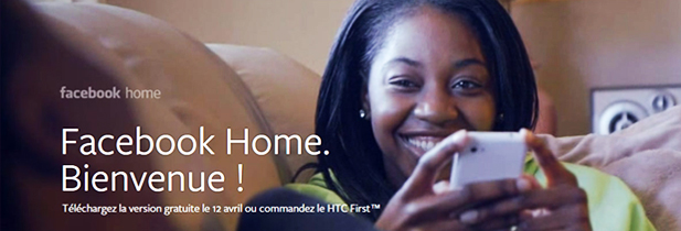Facebook Home fait un flop