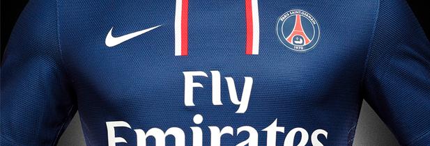 Le nouveau maillot du PSG en matières recyclables
