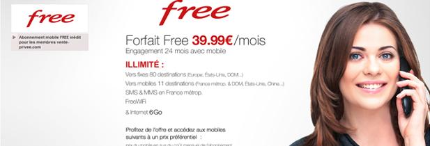 Des smartphones subventionnés chez Free mobile