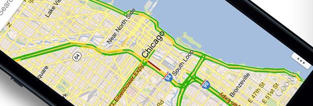 Google maps 2.0 arrive sur iphone et ipad