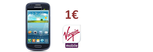 Samsung galaxy S4 mini à 1€ chez Virgin mobile