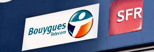SFR et Bouygues pourraient mutualiser leur réseau