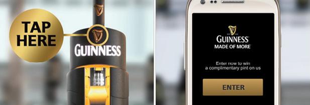 Guinness vous offre une bière si vous possédez un smartphone NFC