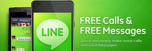Line, le réseau social qui veut concurrencer facebook