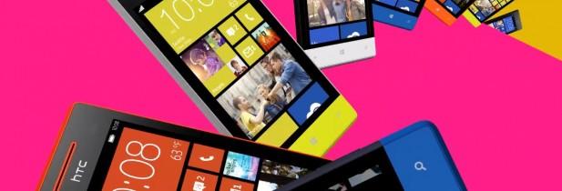 Les smartphones sous windows 8