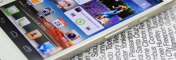 Huawei dévoile le smartphone le plus grand du monde