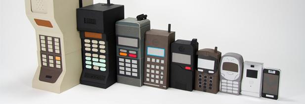 Le téléphone mobile fête ses 40 ans