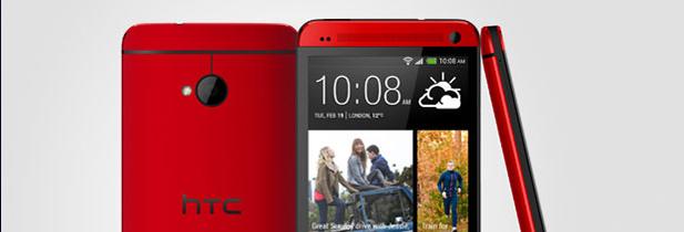 Nouvelles couleurs pour le HTC One