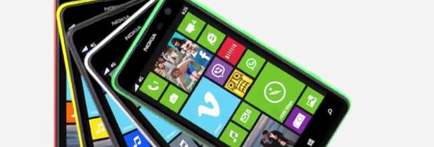Nokia présente le lumia 625, 4G et grand écran à prix abordable