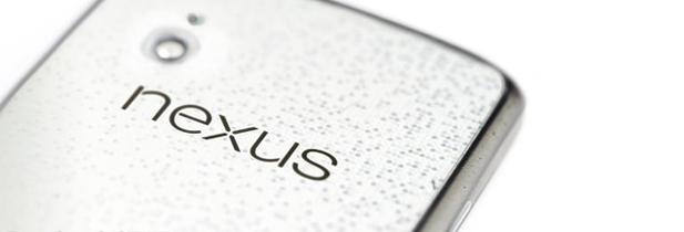 Le Nexus 4 s'habille de blanc