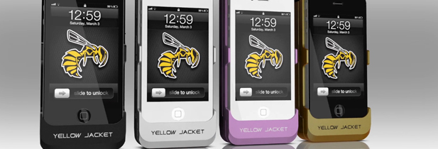 Yellowjacket, une coque qui transforme l'Iphone en arme défensive