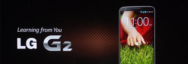 LG G2, le smartphone surprise de LG