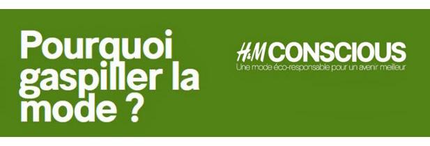 H&M rachète 5€ vos vieux vêtements