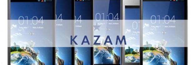Kazam, des nouveaux smartphones low-cost sous android qui arrivent en France