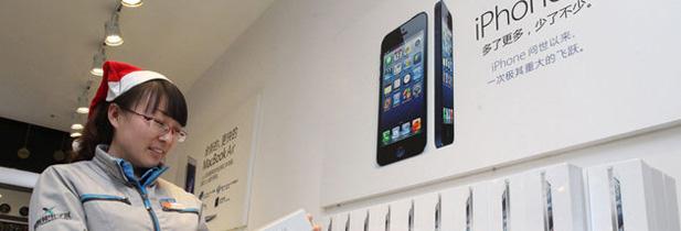 Apple peut enfin s'emparer de l'asie