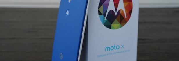 Motorola lance le Moto X en France